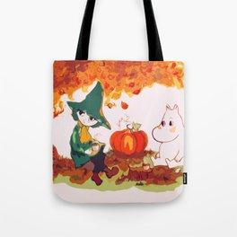 The Autumn Tea Tote Bag