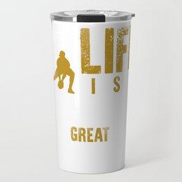 When Life Gives You Bad Hops Make Great Plays T-shirt Travel Mug
