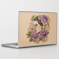 bjork Laptop & iPad Skins featuring Bjork by alxbngala