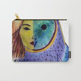Owl woman Carry-All Pouch