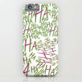 hAHa iPhone Case