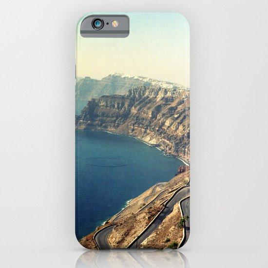 The insane roads of Santorini iPhone & iPod Case