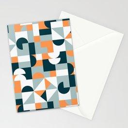 Mid Century Modern Geometric 22/2 Stationery Cards