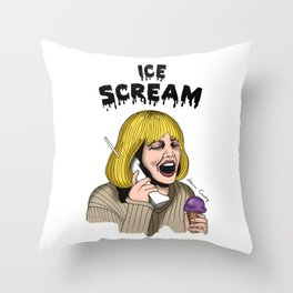 ICE SCREAM Throw Pillow