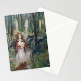 Gwynith and the White Rabbit Stationery Cards