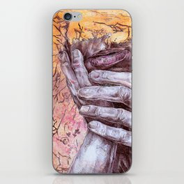 He Tore the wiring in my brain, and quietly rearranged iPhone Skin