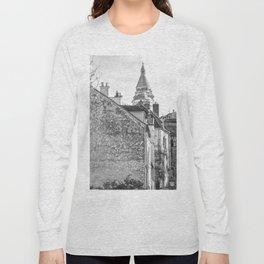 Sacre Coeur view Montmartre Paris Long Sleeve T-shirt