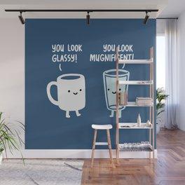 Mug and Glass Wall Mural