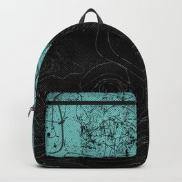Topography Aqua Backpack
