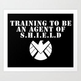 Agent of S.H.I.E.L.D V2 Art Print