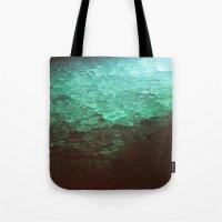 pool Tote Bags featuring Pool by Dulcinee