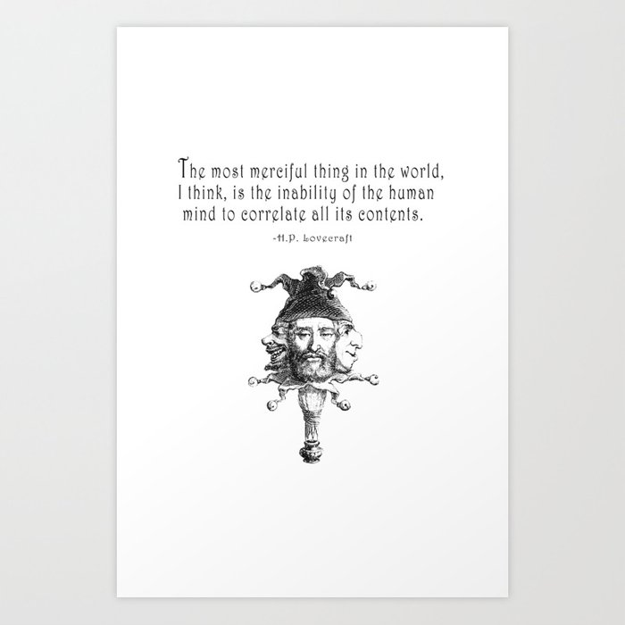 The Most Merciful Thing Art Print