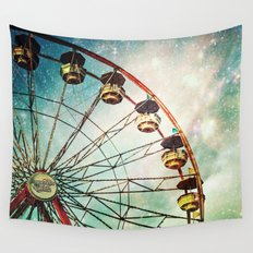 A Little Night Magic Wall Tapestry