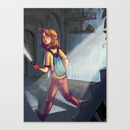 Farah Left Canvas Print