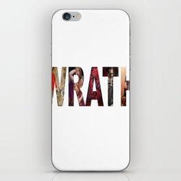 Wrath iPhone Skin