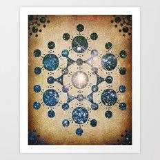 The Wiltshire Circle Art Print