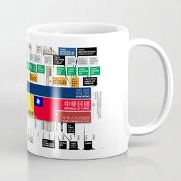 Timeline of Hongkong History Coffee Mug