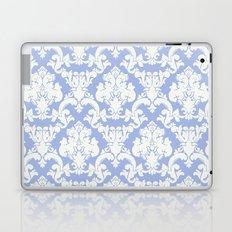 wedgewood blue damask Laptop & iPad Skin