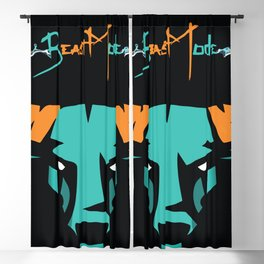 Beast Mode Blackout Curtain