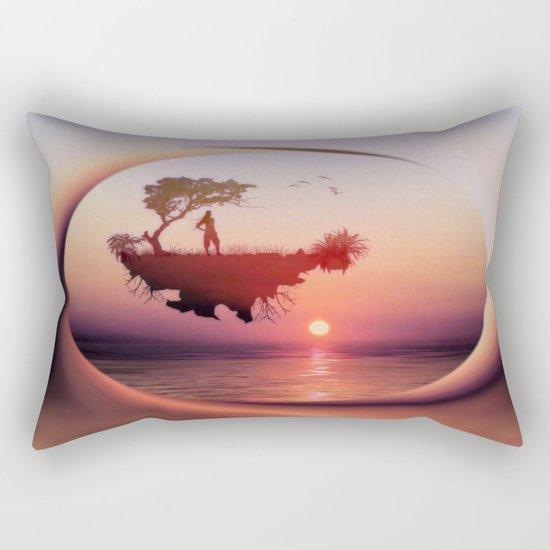 LANDSCAPE - Solitary sister Rectangular Pillow