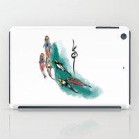 koi iPad Cases featuring Koi by Det Tidkun