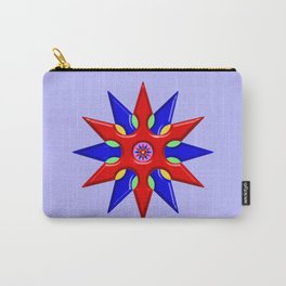 Shuriken Lotus Flower Carry-All Pouch