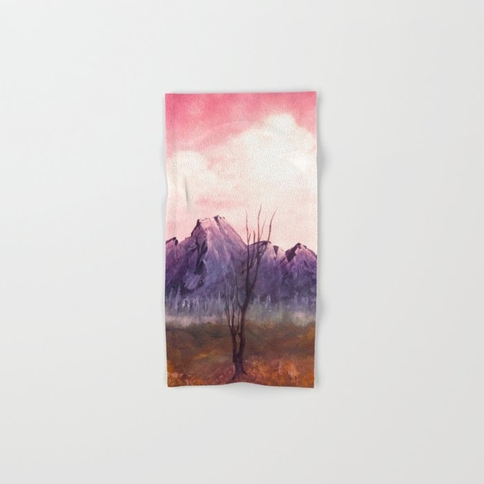 Over The Mountains II Hand & Bath Towel