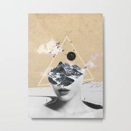 collage art / Wild Nature Metal Print