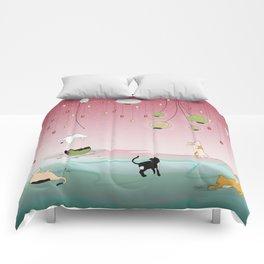 Cat's Paradise Comforters