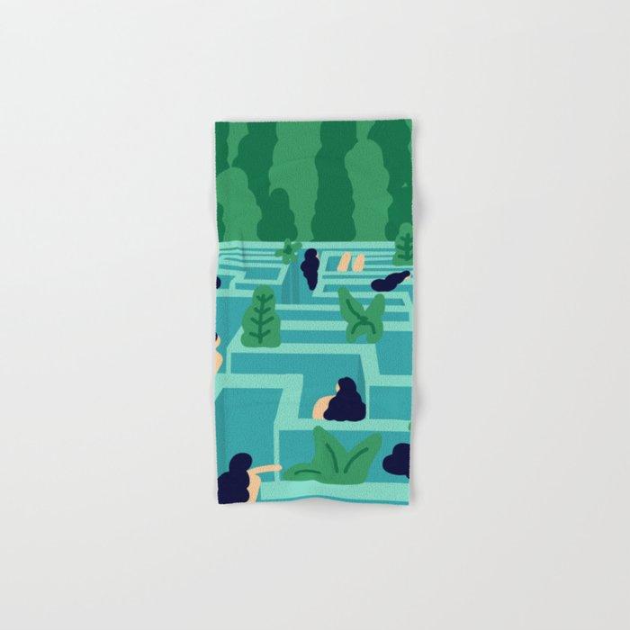 No Exit Hand & Bath Towel