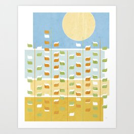 Golden Fields Art Print