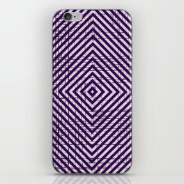 The System - Purple iPhone Skin