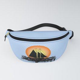 Grunge sailing Fanny Pack