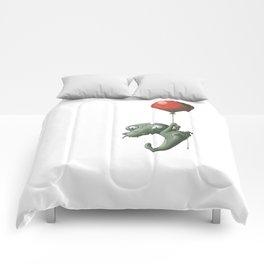 Crocodile in Trouble Comforters