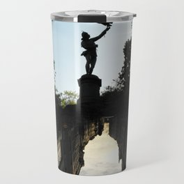 Bavarian Birdman - Upside Up III Travel Mug