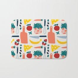 Minimal Kitchen I Bath Mat