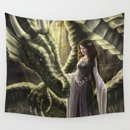 To Meet a Dragon Wall Tapestry