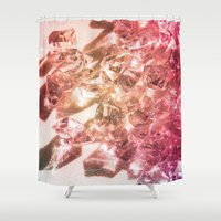 fantasy Shower Curtains featuring Fantasy by Yoshigirl