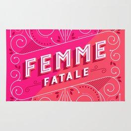 Femme Fatale Rug