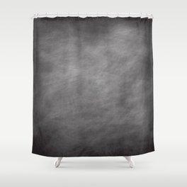 Blackboard dust Shower Curtain