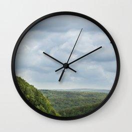 Soaring Through The Storm - Letchworth Park Wall Clock