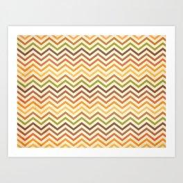 Retro 60 - First Wave Art Print