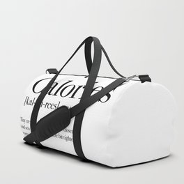 Calories Duffle Bag
