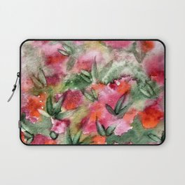 Flowers in the corner Laptop Sleeve