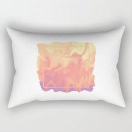 melting colors Rectangular Pillow