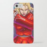 street fighter iPhone & iPod Cases featuring Karin Street Fighter V by Darrold Hansen