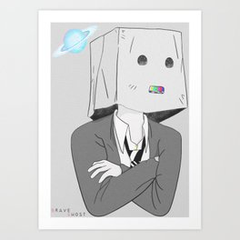 Real Boy Art Print
