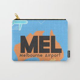 MEL Melbourne airport code Carry-All Pouch