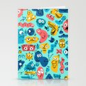 Colorful Character Shapes by davidkantrowitz