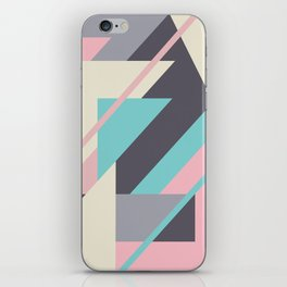 Delicious retro geometric iPhone Skin
